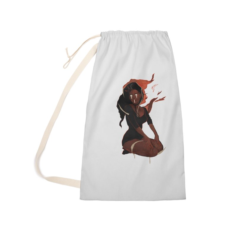 Your First Demon Sister Accessories Laundry Bag Bag by Dom's Shop