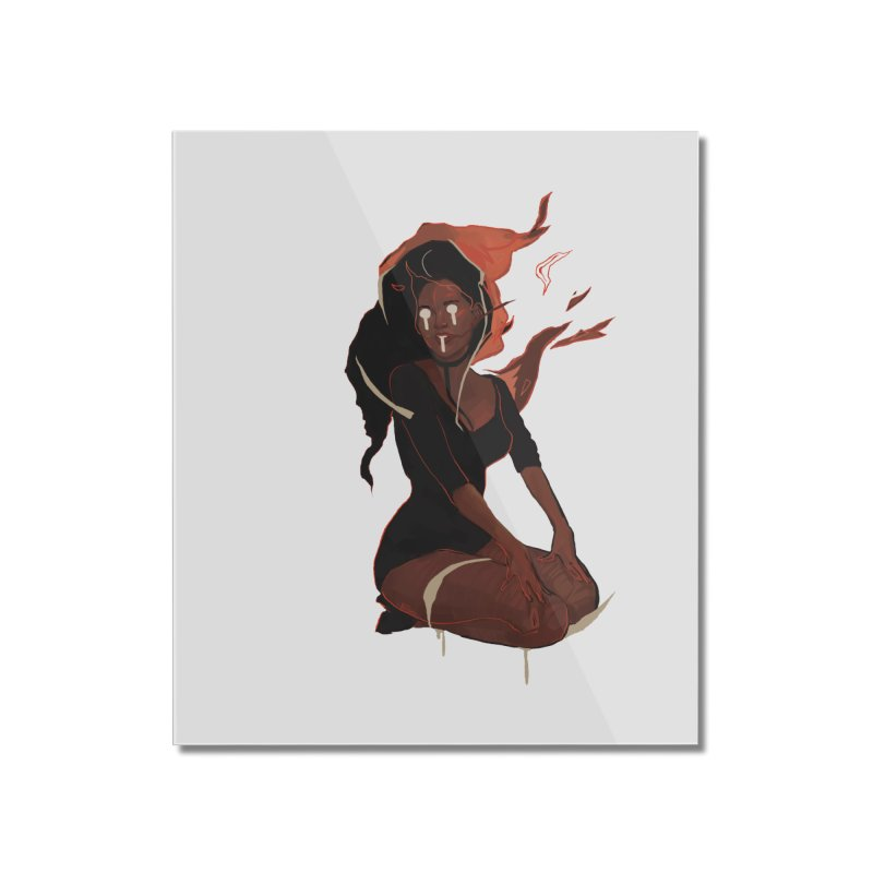 Your First Demon Sister Home Mounted Acrylic Print by Dom's Shop