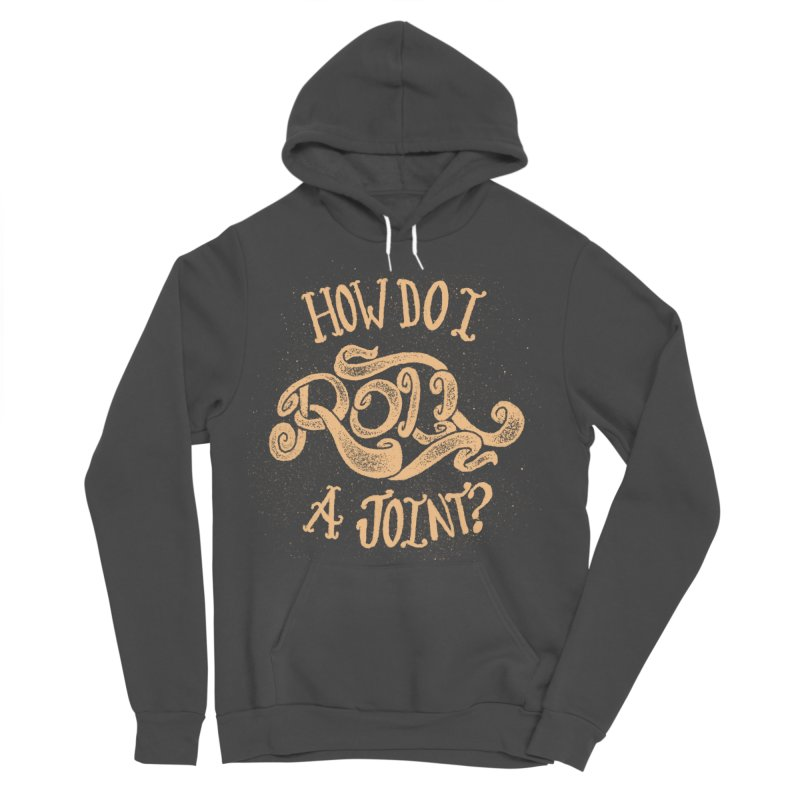 How Do I Roll A Joint? Men's Sponge Fleece Pullover Hoody by DTM Creative