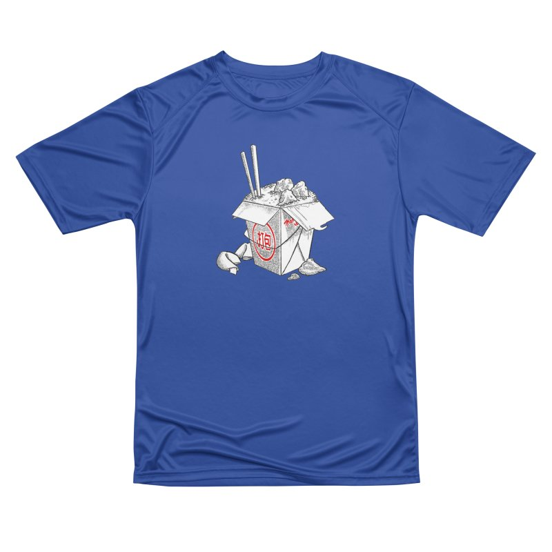 Take Out Men's Performance T-Shirt by DTM Creative