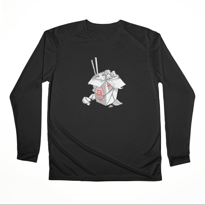 Take Out Men's Performance Longsleeve T-Shirt by DTM Creative