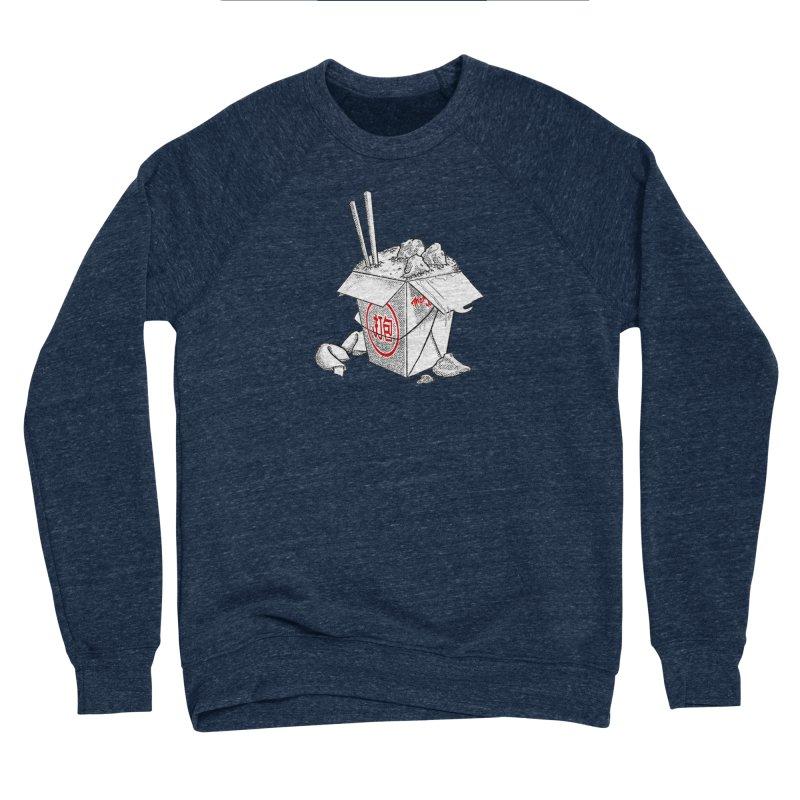 Take Out Women's Sponge Fleece Sweatshirt by DTM Creative