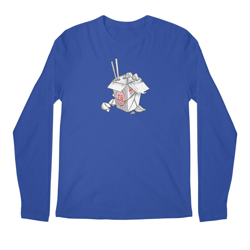 Take Out Men's Longsleeve T-Shirt by DTM Creative