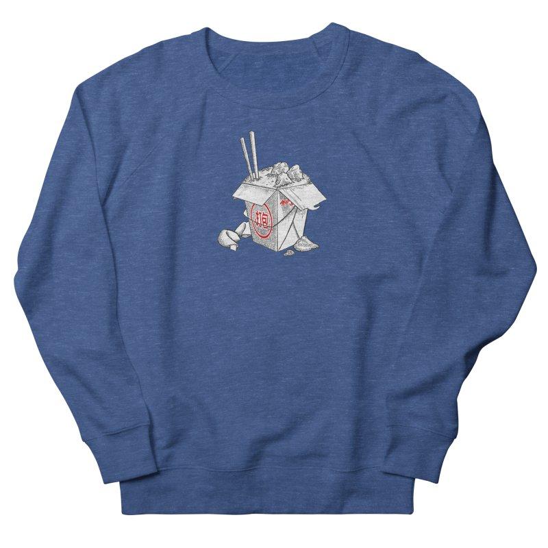 Take Out Men's Sweatshirt by DTM Creative