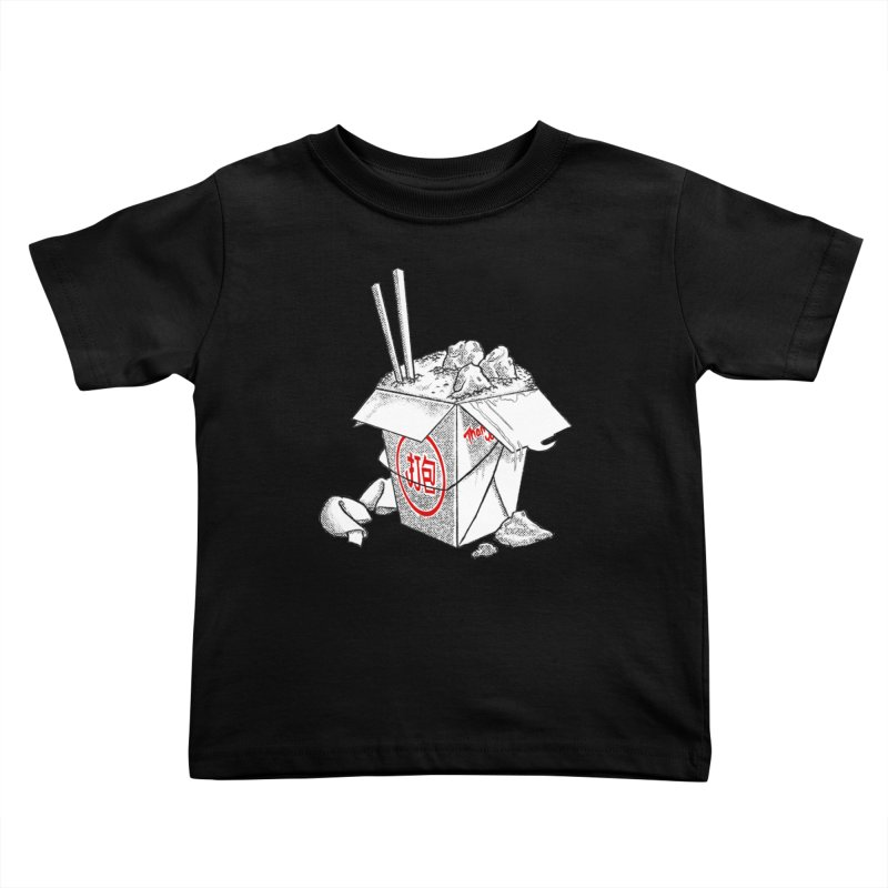 Take Out Kids Toddler T-Shirt by DTM Creative