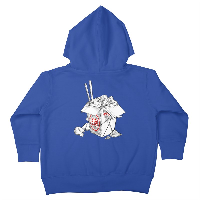 Take Out Kids Toddler Zip-Up Hoody by DTM Creative