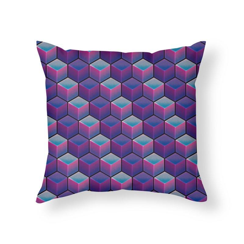 Q U A D R A N T A L Home Throw Pillow by DTM Creative