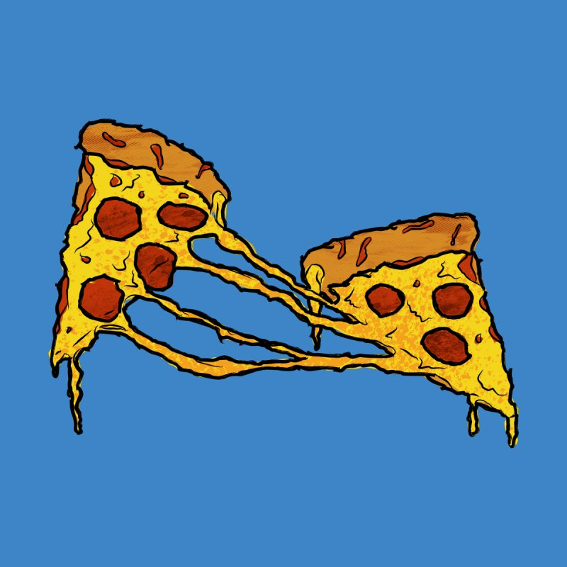 Gooey Pizza Slices by DTM Creative