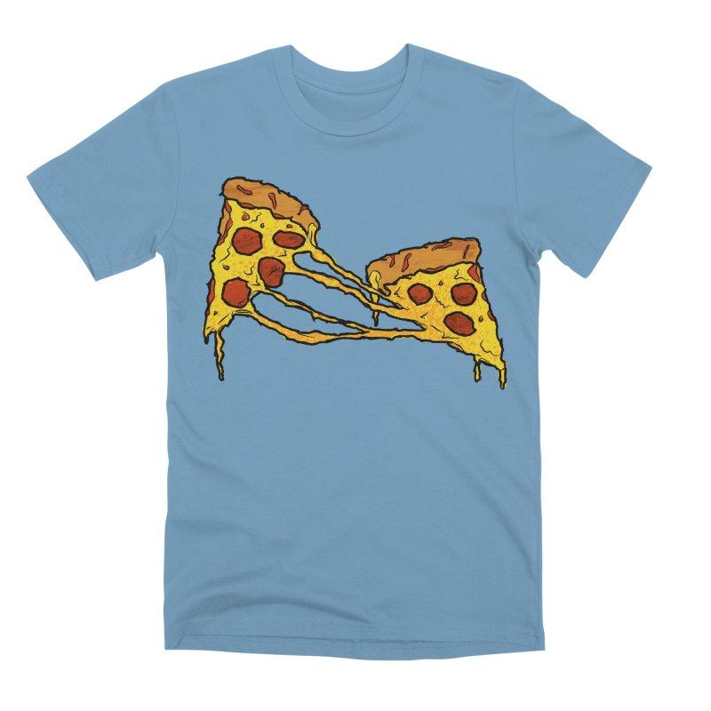 Gooey Pizza Slices Men's Premium T-Shirt by DTM Creative