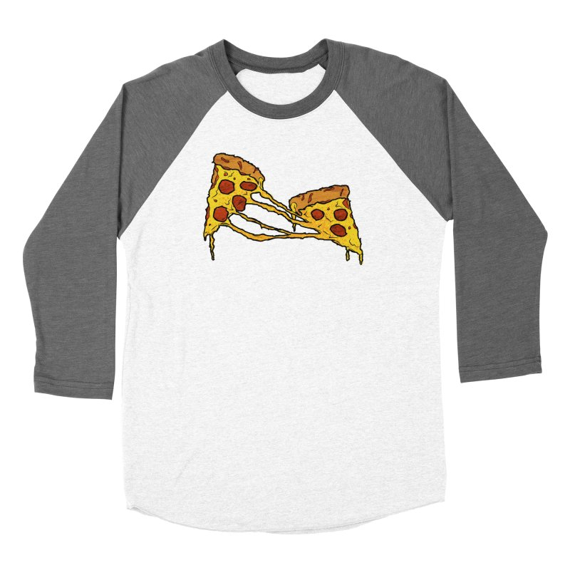 Gooey Pizza Slices Women's Longsleeve T-Shirt by DTM Creative