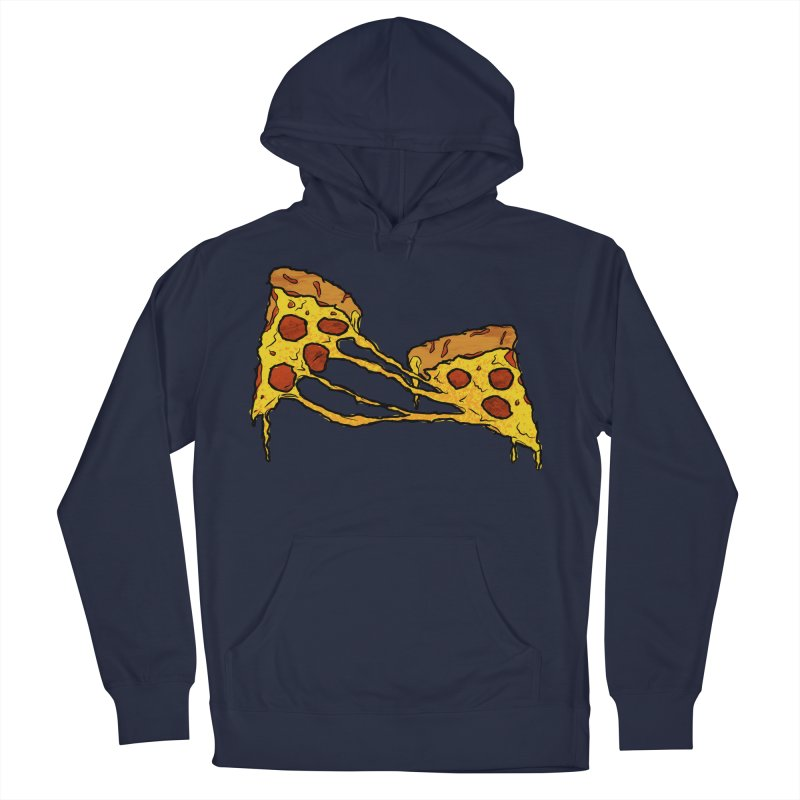 Gooey Pizza Slices Men's Pullover Hoody by DTM Creative