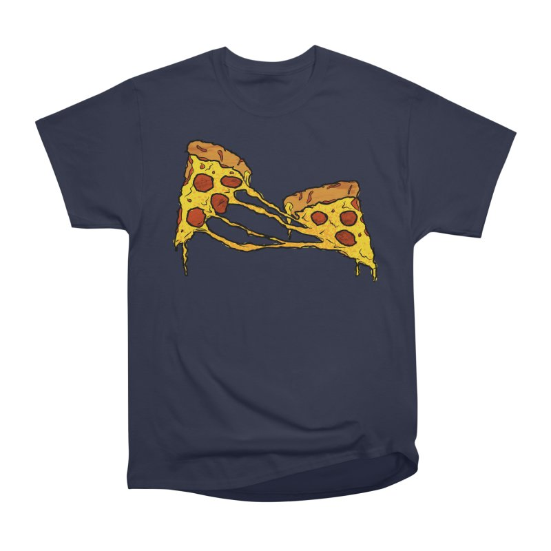 Gooey Pizza Slices Men's Heavyweight T-Shirt by DTM Creative