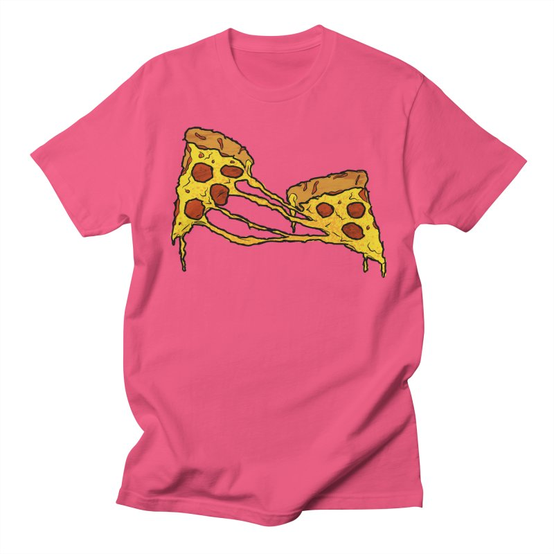 Gooey Pizza Slices Women's Regular Unisex T-Shirt by DTM Creative