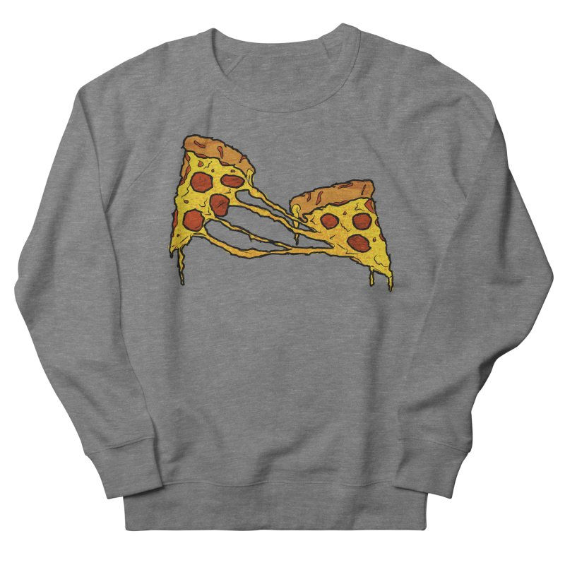 Gooey Pizza Slices Men's French Terry Sweatshirt by DTM Creative