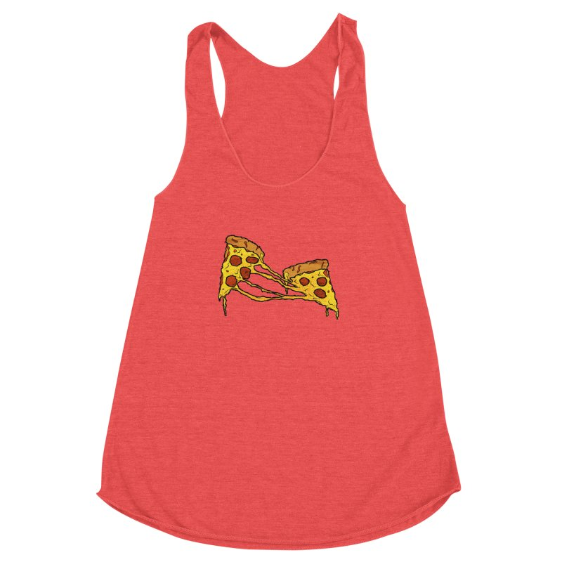 Gooey Pizza Slices Women's Tank by DTM Creative