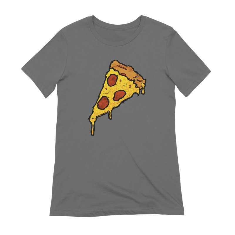 Gooey Pizza Slice Women's T-Shirt by DTM Creative