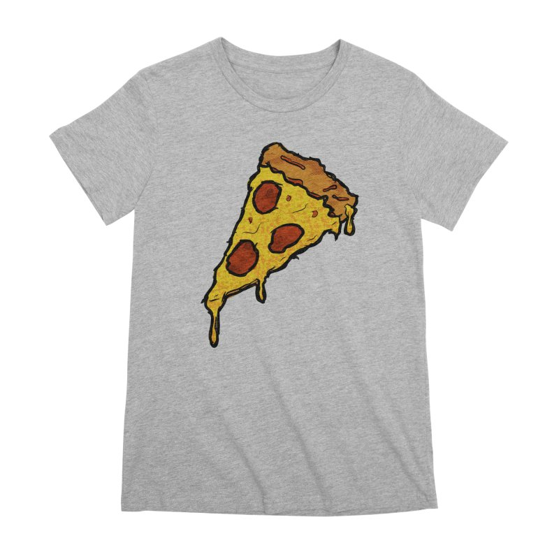 Gooey Pizza Slice Women's Premium T-Shirt by DTM Creative