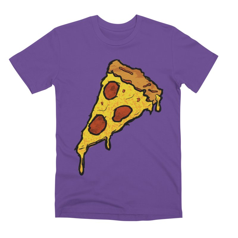 Gooey Pizza Slice Men's Premium T-Shirt by DTM Creative