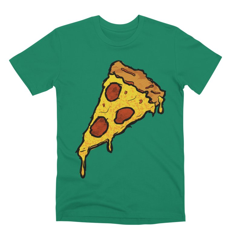 Gooey Pizza Slice Men's Premium T-Shirt by DTM Creative