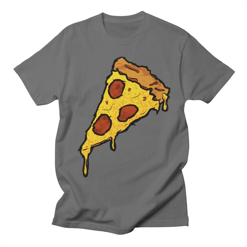 Gooey Pizza Slice Women's T-Shirt by DTM Creative