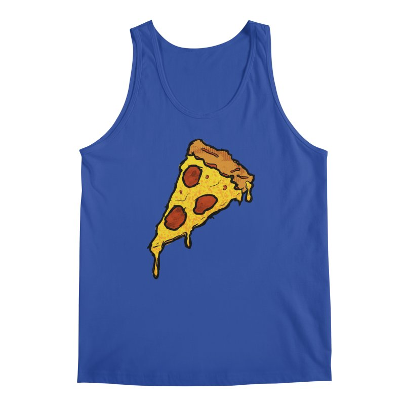 Gooey Pizza Slice Men's Regular Tank by DTM Creative