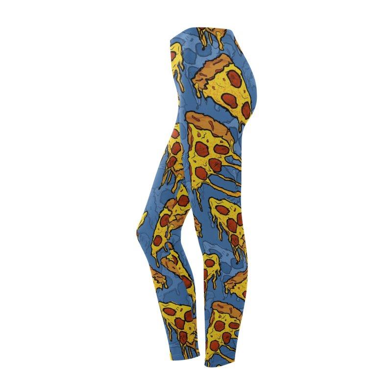 Gooey Pizza Pattern Women's Bottoms by DTM Creative
