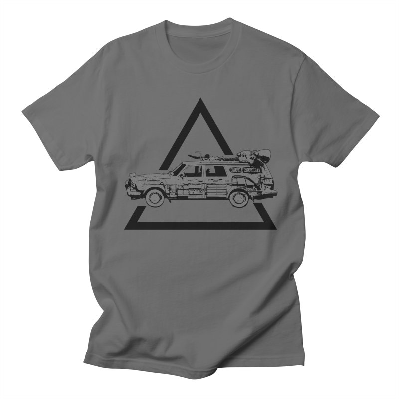 Warning - DUBROBOT Men's T-Shirt by DUBROBOT - The Time Transportation Authority