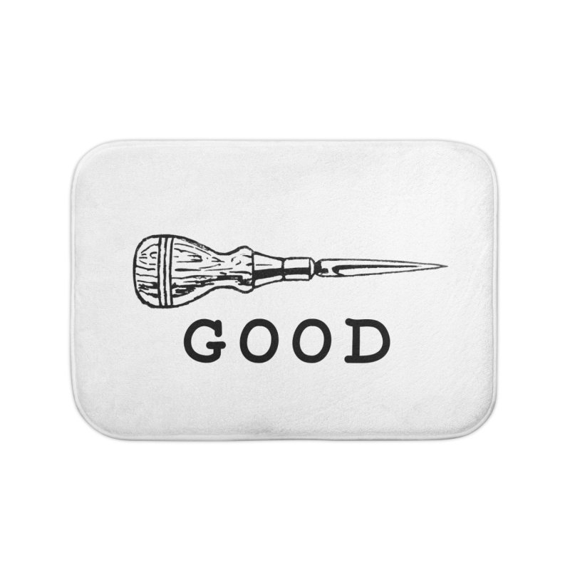 AWL GOOD Home Bath Mat by DUBROBOT - The Time Transportation Authority