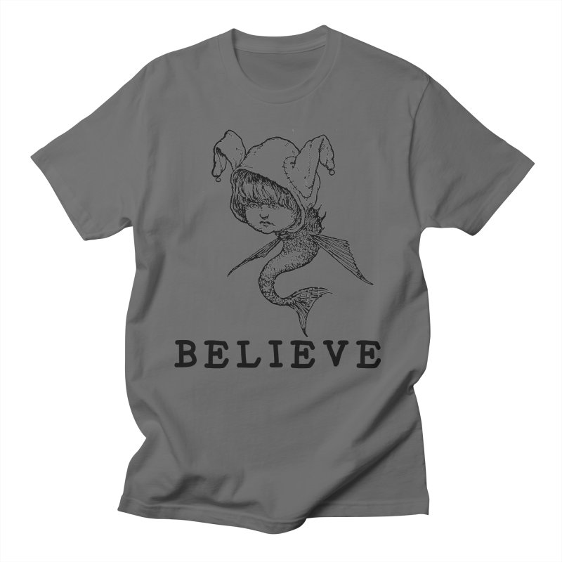 I Believe  Men's T-Shirt by DUBROBOT - The Time Transportation Authority