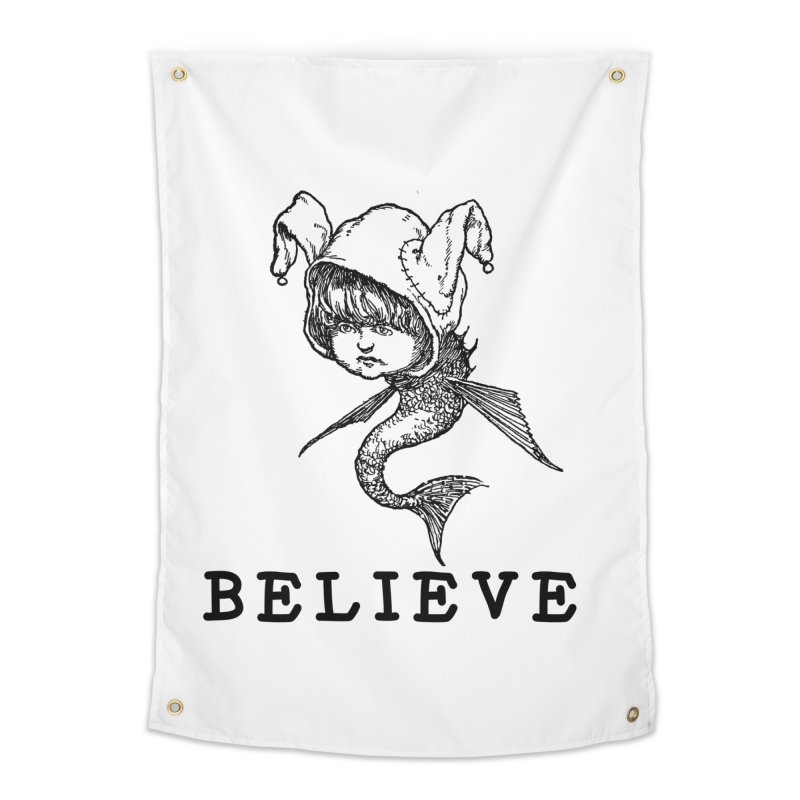 I Believe  Home Tapestry by DUBROBOT - The Time Transportation Authority