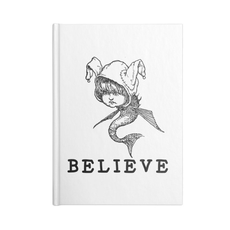 I Believe  Accessories Notebook by DUBROBOT - The Time Transportation Authority