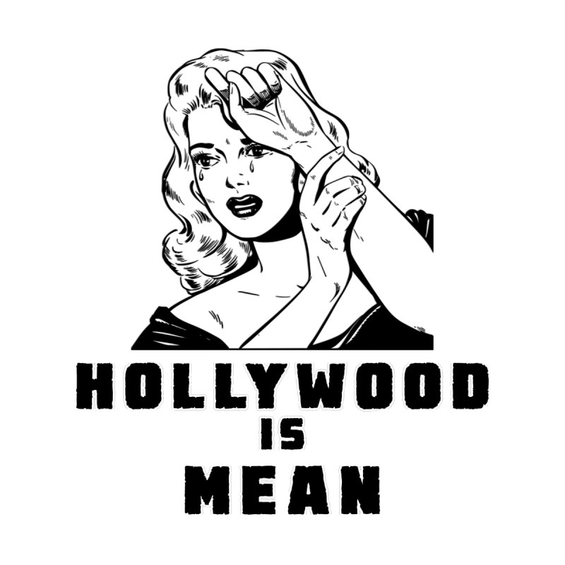 HOLLYWOOD IS MEAN - Crying Girl Home Tapestry by DUBROBOT - The Time Transportation Authority