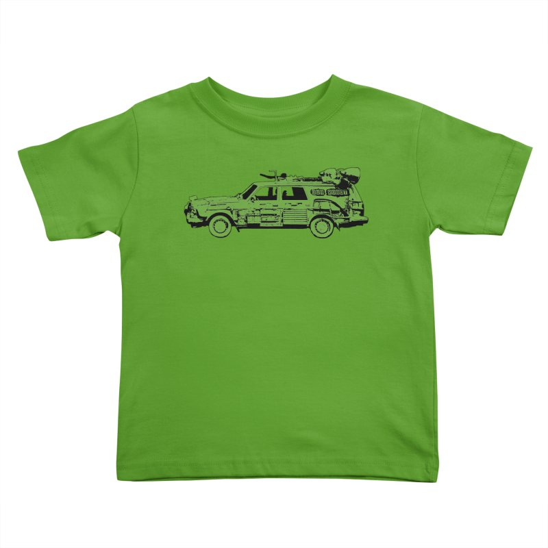 The Lander Kids Toddler T-Shirt by DUBROBOT - The Time Transportation Authority