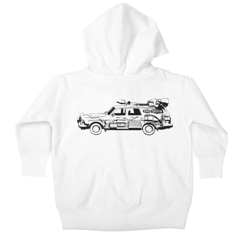 The Lander Kids Baby Zip-Up Hoody by DUBROBOT - The Time Transportation Authority