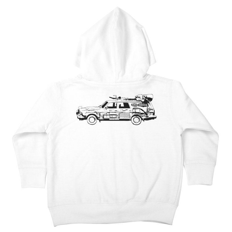 The Lander Kids Toddler Zip-Up Hoody by DUBROBOT - The Time Transportation Authority