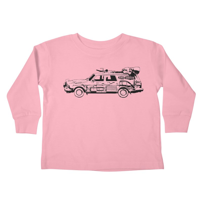 The Lander Kids Toddler Longsleeve T-Shirt by DUBROBOT - The Time Transportation Authority