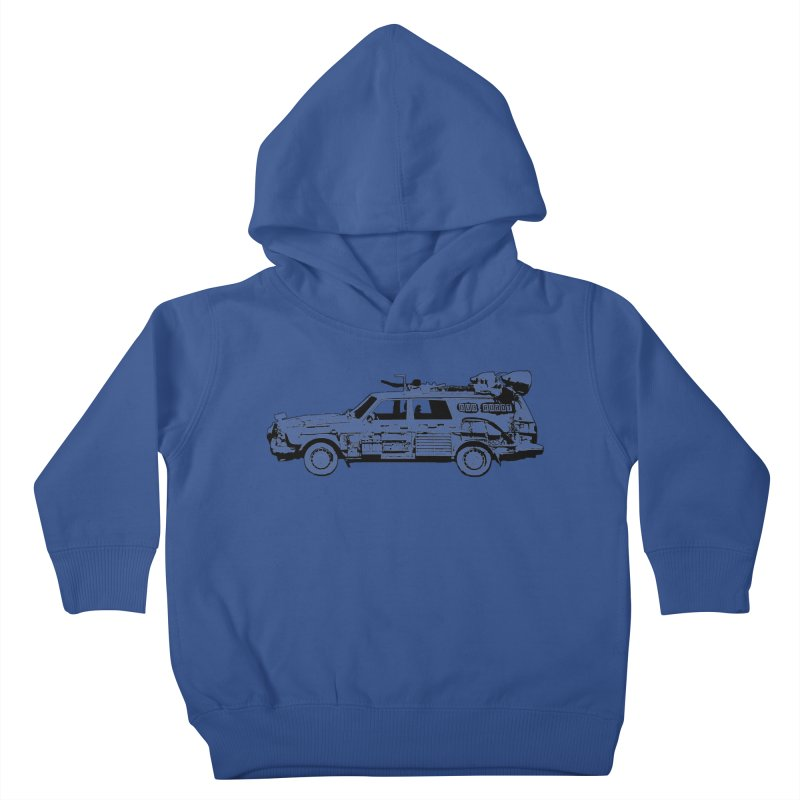 The Lander Kids Toddler Pullover Hoody by DUBROBOT - The Time Transportation Authority