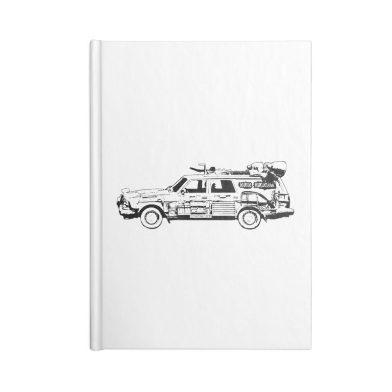 The Lander Accessories Notebook by DUBROBOT - The Time Transportation Authority