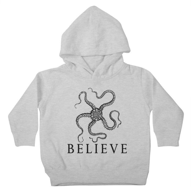 Ocean Believe Kids Toddler Pullover Hoody by DUBROBOT - The Time Transportation Authority