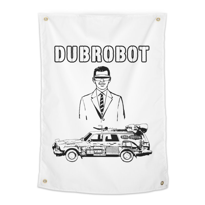 DUBROBOT - Time Goggles Home Tapestry by DUBROBOT - The Time Transportation Authority