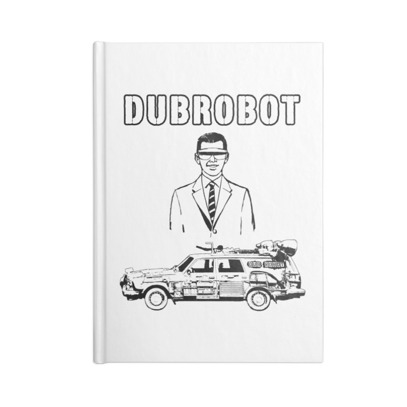 DUBROBOT - Time Goggles Accessories Notebook by DUBROBOT - The Time Transportation Authority