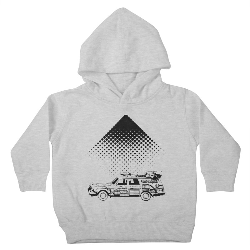 DUBROBOT - inna dot matrix style Kids Toddler Pullover Hoody by DUBROBOT - The Time Transportation Authority