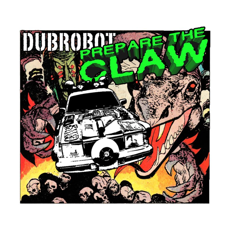 DUBROBOT - Prepare the Claw  Home Tapestry by DUBROBOT - The Time Transportation Authority