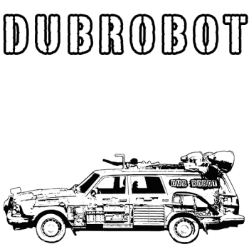 DUBROBOT - The Time Transportation Authority Logo