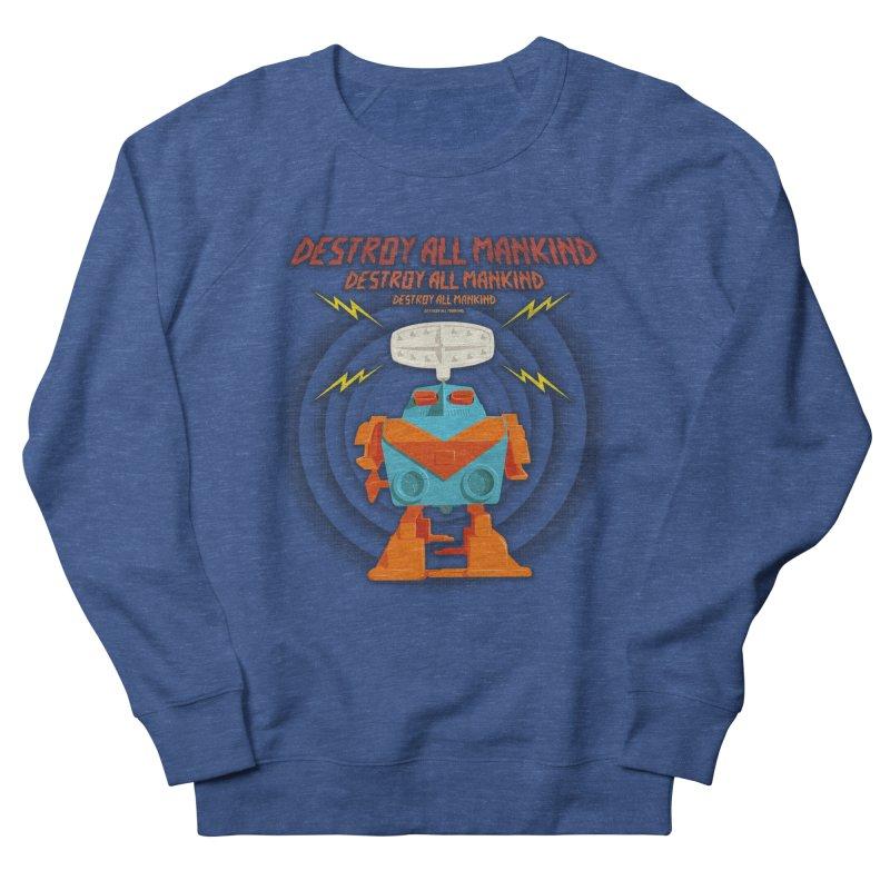 Robott Women's Sweatshirt by dudesign's Artist Shop