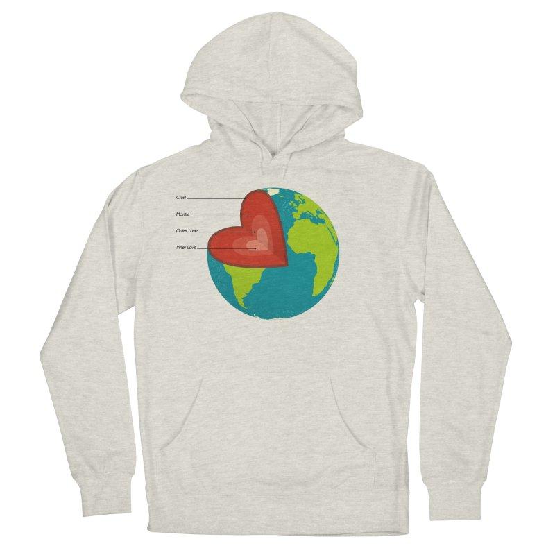 Love Earth Women's Pullover Hoody by dudesign's Artist Shop