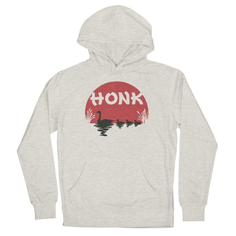 Honk Men's Pullover Hoody by dudesign's Artist Shop