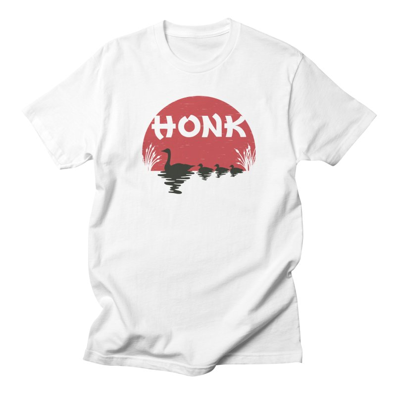 Honk Men's T-Shirt by dudesign's Artist Shop