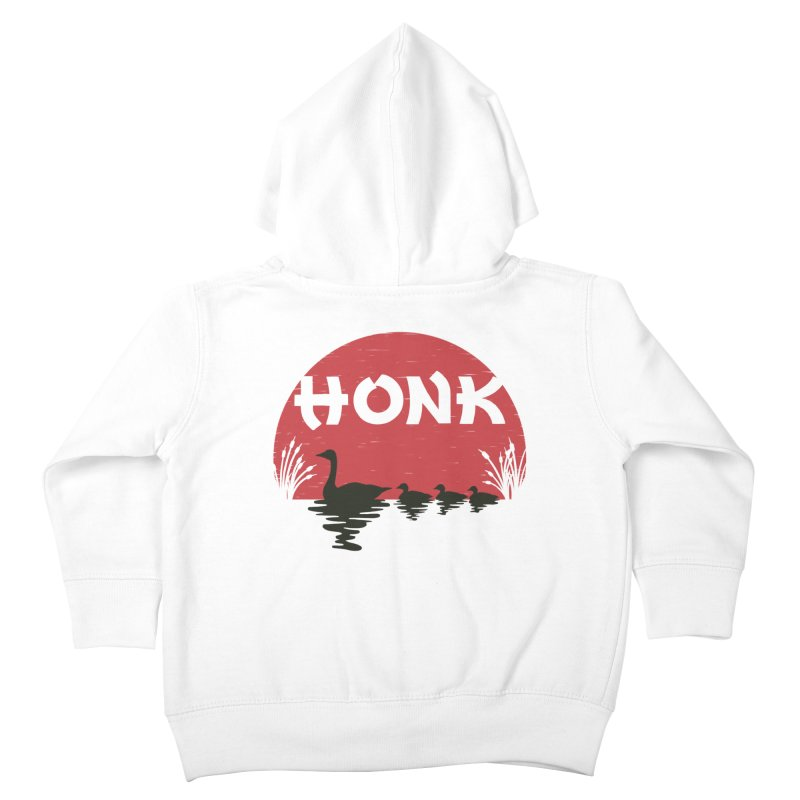 Honk Kids Toddler Zip-Up Hoody by dudesign's Artist Shop