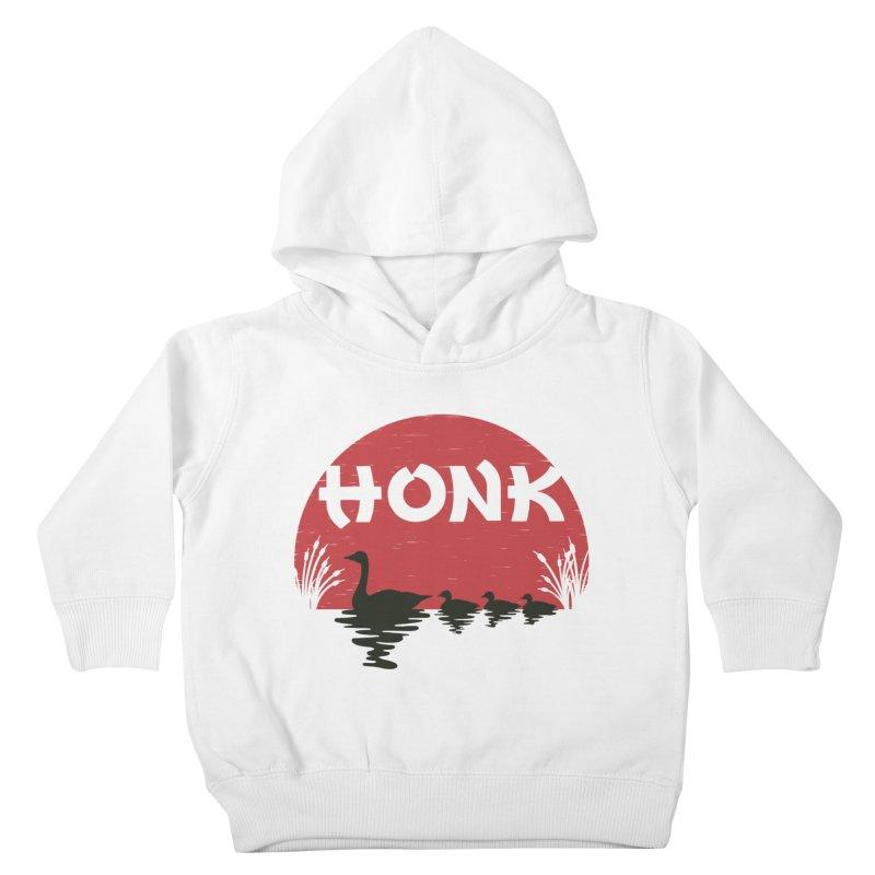 Honk Kids Toddler Pullover Hoody by dudesign's Artist Shop